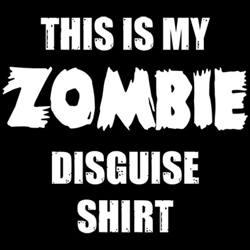 зомби маскировка