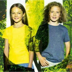 тениска детска 100% пениран памук ICONIC