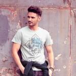 Мъжка тениска за HD сублимация бял