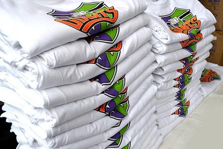 рекламни тениски обем